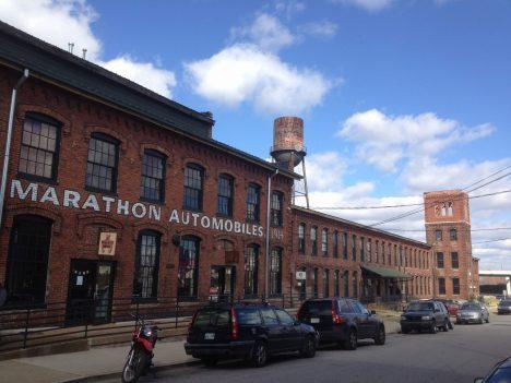 Marathon Automobiles houses Antique Archeology