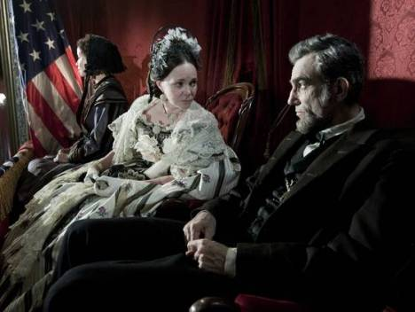Daniel Day Lewis as Lincoln and Sally Field as Mary Todd Lincoln (Photo: David James, DreamWorks II/Twentieth Century Fox)