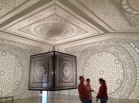 Intersections, Anila Quayyum Agha (with Karen, Susan and Bob)